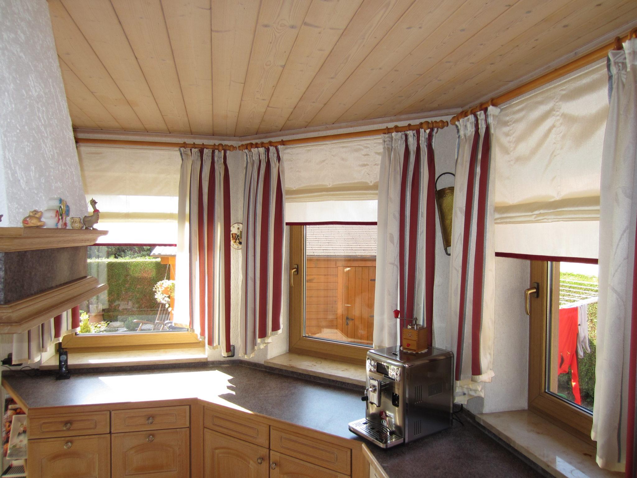 Frisch Fenster Mit Gardinen Dekorieren Schema
