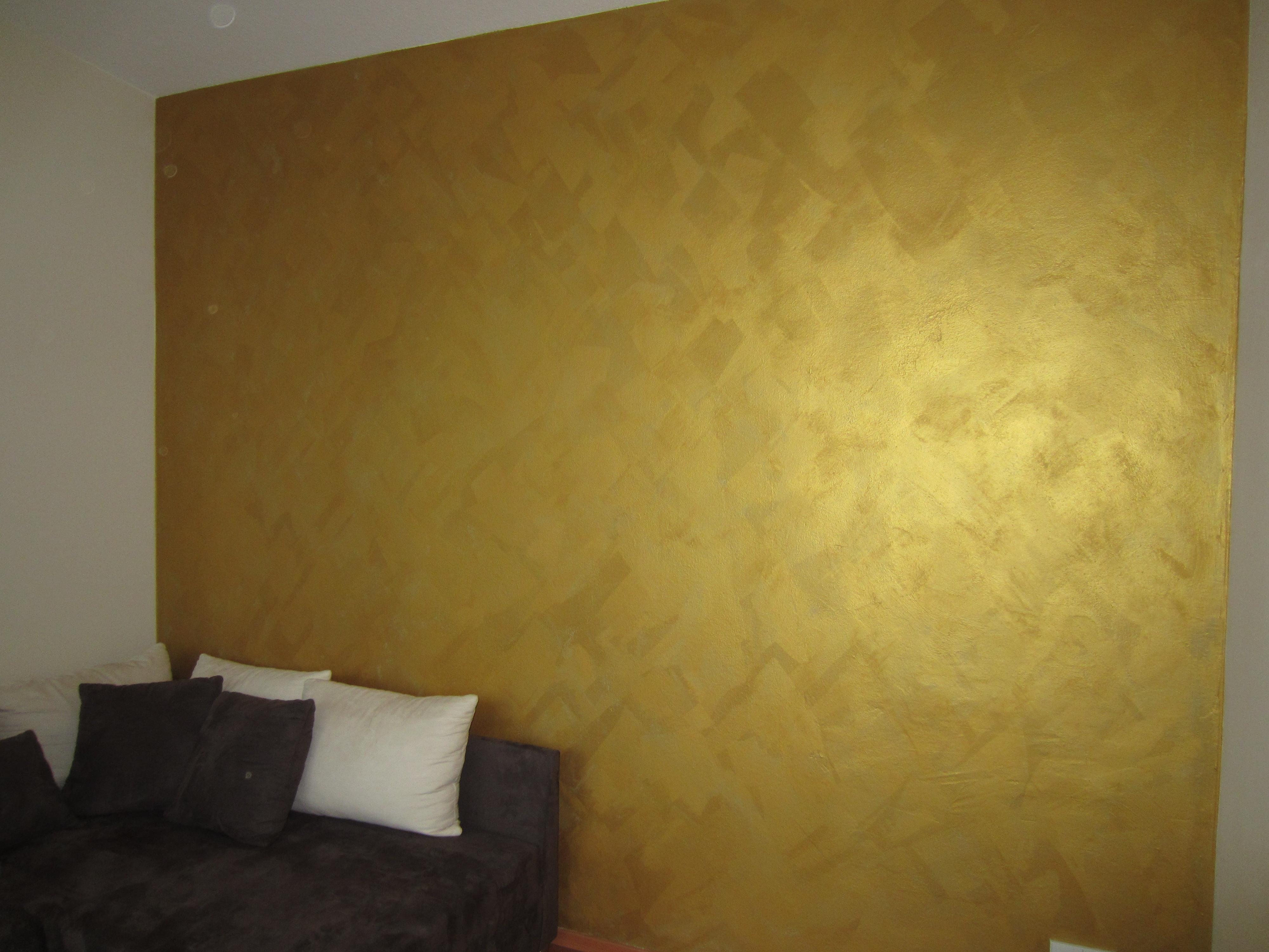 Wandgestaltung Mit Glamour Faktor   Trebes Raumausstattung, Wohnzimmer Dekoo