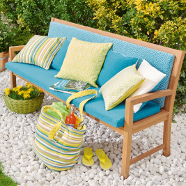 Outdoor-Polster Sitzbankauflage für den Garten