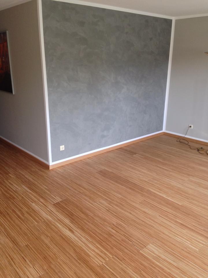 Wandspachtelung, frische Farben, neuer Parkettboden - alles mit Lohnkosten verbunden die sich prima absetzen lassen