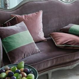 Couch neu aufgepolstert und mit Velours Polsterstoff bezogen von Polsterservice Trebes