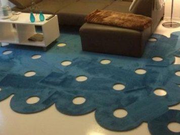 Teppich Kreise mit Shape Edition - Trebes Raumausstattung