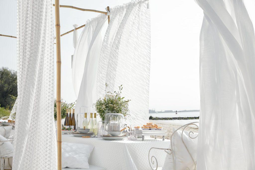 Gardine, Vorhang, Stores - Vorhangstoffe sind vielseitig einsetzbar