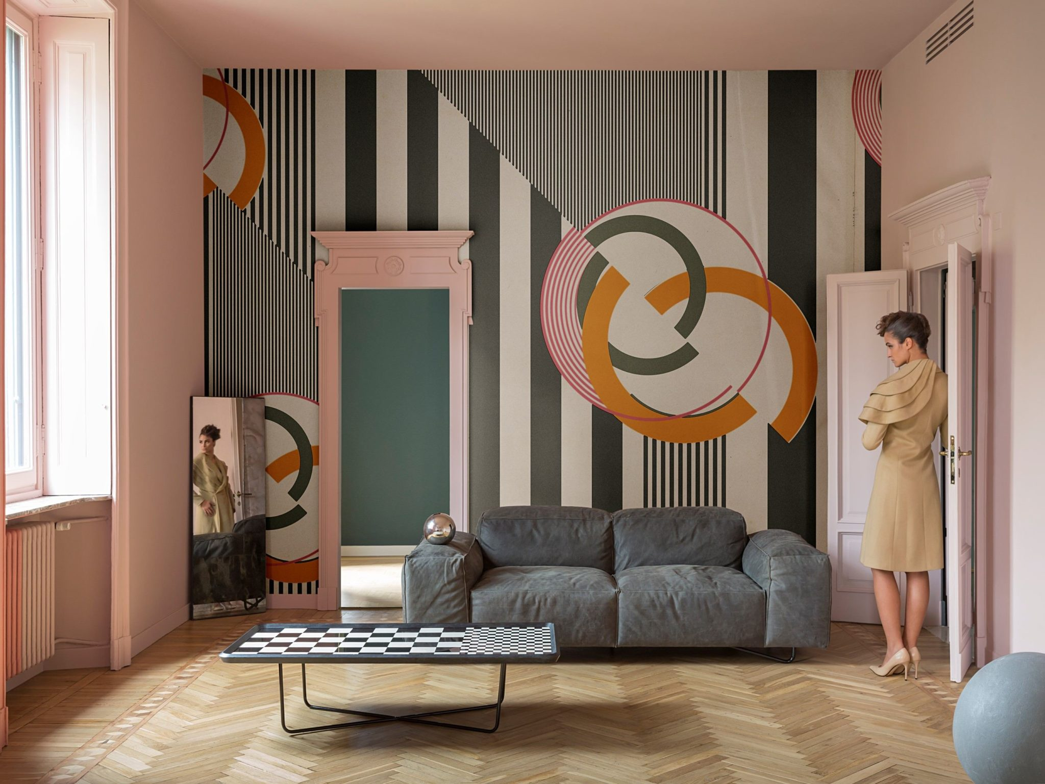 wall deco design tapeten kollektion 2017 trebes. Black Bedroom Furniture Sets. Home Design Ideas