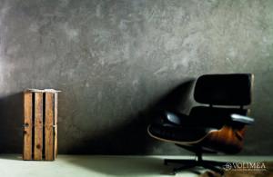 Wohntrend Betonwand - Wandgestaltung in Betonoptik _ Grob verspachtelt