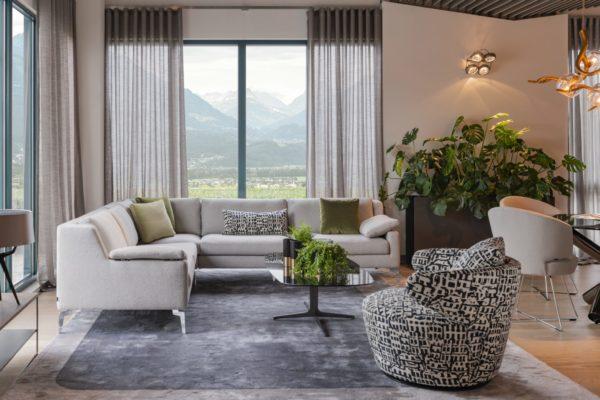 Für jeden Wohnungsschnitt können Sie Ihre Couch anpassen. Immer genau auf Ihre Bedürfnisse zugeschnitten.