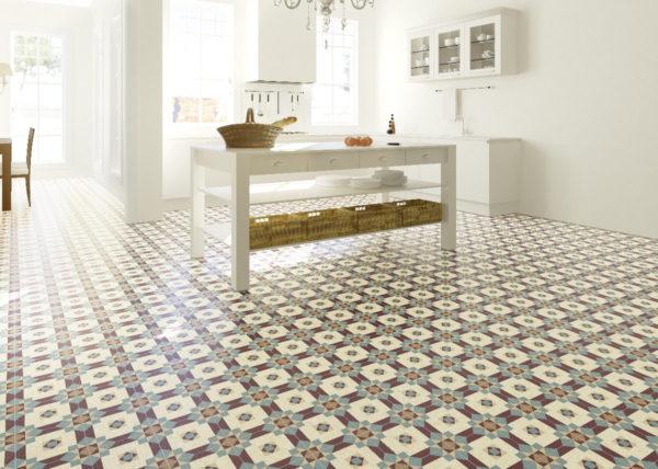 Auch klassische Muster gibt es in unserer neuen Kollektion. Wie hier diese wunderschöne farbenfrohe Muster.