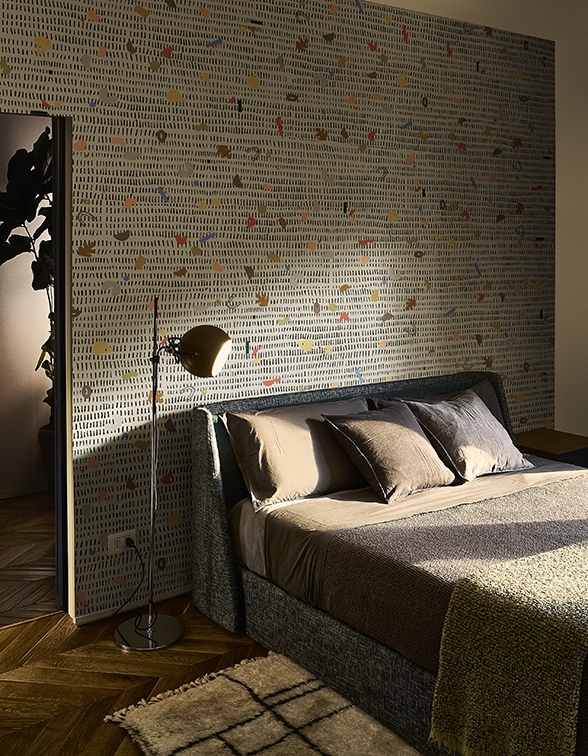 """Die richtige Würze für die Wand bietet dieses Motiv mit dem Namen """"Spices"""" - es wirkt belebend und spannend."""
