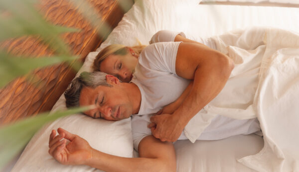 Relax Bettsystem schlafendes Paar